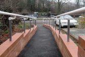 Silver ADA compliant railing