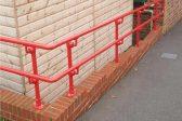 Red guardrail