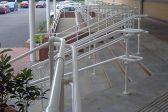 White railing