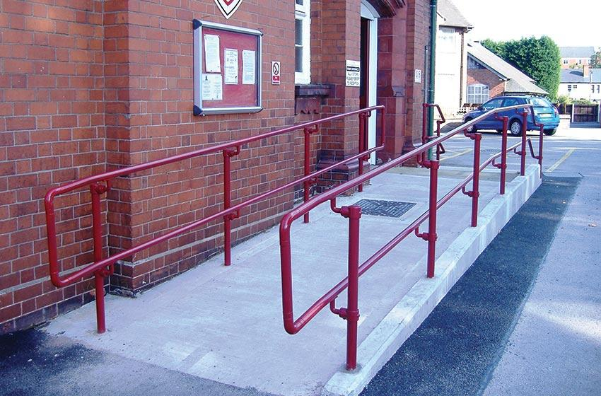 Powder Coated Railings Modular Railing Systems