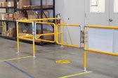 yellow safety gates