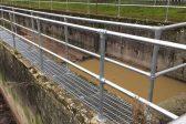 Silver guardrail